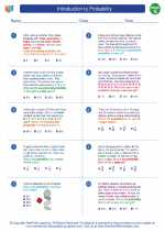 Mathematics - Seventh Grade - Worksheet: Introduction to Probability