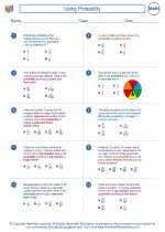 Mathematics - Seventh Grade - Worksheet: Using Probability