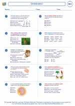 Biology - High School - Worksheet: Vertebrates I