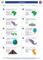 Social Studies - Fifth Grade - Worksheet: Exploration