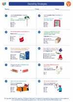 English Language Arts - Fifth Grade - Worksheet: Decoding Strategies