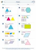 Mathematics - Fourth Grade - Worksheet: Shapes