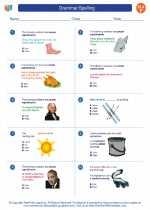English Language Arts - Sixth Grade - Worksheet: Grammar/Spelling