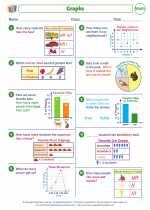 Mathematics - Second Grade - Worksheet: Graphs