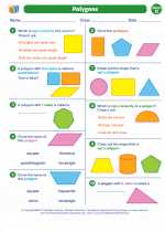 Mathematics - Fifth Grade - Worksheet: Polygons