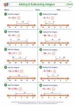 Positive & Negative Integers
