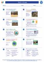 Earth Science - High School - Worksheet: Earth`s Climate