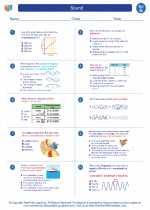 Science - Seventh Grade - Worksheet: Sound