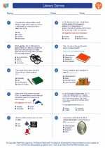 English Language Arts - Fifth Grade - Worksheet: Literary Genres