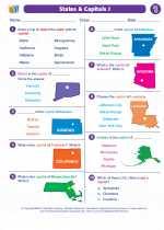 States & Capitals I