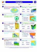 Social Studies - Fifth Grade - Worksheet: Geography