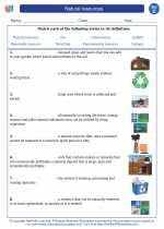 Science - Third Grade - Vocabulary: Natural resources