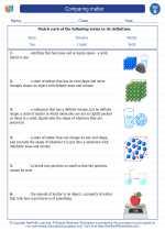 Science - Second Grade - Vocabulary: Comparing matter