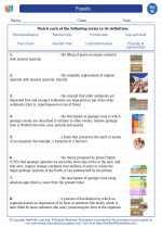 Science - Eighth Grade - Vocabulary: Fossils