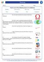 Science - Sixth Grade - Vocabulary: Electricity
