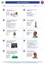 Social Studies - Sixth Grade - Worksheet: Harlem Renaissance