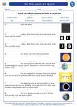 Science - Fourth Grade - Vocabulary: Our Solar system and beyond