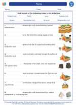 Science - Eighth Grade - Vocabulary: Rocks