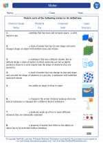 Science - Fourth Grade - Vocabulary: Matter