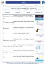 Science - Seventh Grade - Vocabulary: Sound