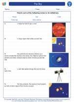 Science - First Grade - Vocabulary: The Sky