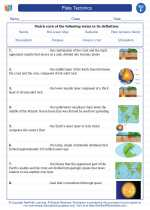 Science - Sixth Grade - Vocabulary: Plate Tectonics
