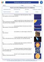 Studying and exploring space