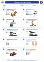 Social Studies - Fifth Grade - Worksheet: Industrial Growth & Expansion