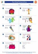 English Language Arts - Third Grade - Worksheet: Root Words/Prefixes/Suffixes