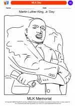 Social Studies - Kindergarten - Worksheet: MLK Day