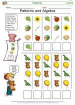 Mathematics - First Grade - Worksheet: Patterns