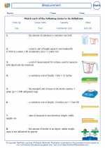 Mathematics - Fourth Grade - Vocabulary: Measurement