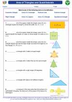 Area of Triangles and Quadrilaterals