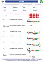Mathematics - First Grade - Vocabulary: Ordinals