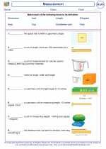 Mathematics - Second Grade - Vocabulary: Measurement