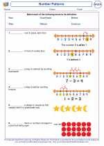 Mathematics - Second Grade - Vocabulary: Number Patterns