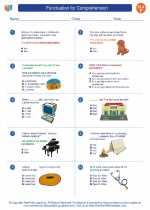 English Language Arts - Sixth Grade - Worksheet: Punctuation for Comprehension
