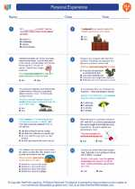 English Language Arts - Sixth Grade - Worksheet: Personal Experience