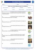 Science - Sixth Grade - Vocabulary: Groundwater Resources