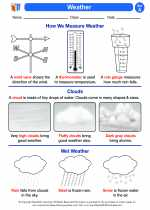 Science - First Grade - Activity Lesson: Weather