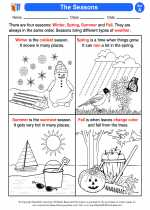 Science - First Grade - Activity Lesson: The Seasons