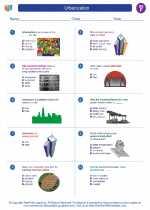 Social Studies - Sixth Grade - Worksheet: Urbanization