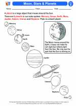 Science - Second Grade - Activity Lesson: Moon, Stars & Planets