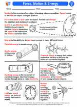 Science - Fourth Grade - Activity Lesson: Force, Motion & Energy