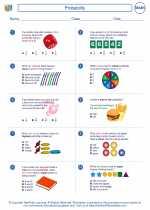 Mathematics - Fourth Grade - Worksheet: Probability