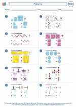 Mathematics - Fifth Grade - Worksheet: Patterns