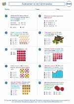 Mathematics - Second Grade - Worksheet: Subtraction is not Commutative