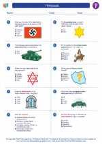 Social Studies - Sixth Grade - Worksheet: Holocaust