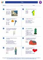 Social Studies - Sixth Grade - Worksheet: TVA