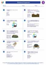 Social Studies - Fourth Grade - Worksheet: Westward Expansion
